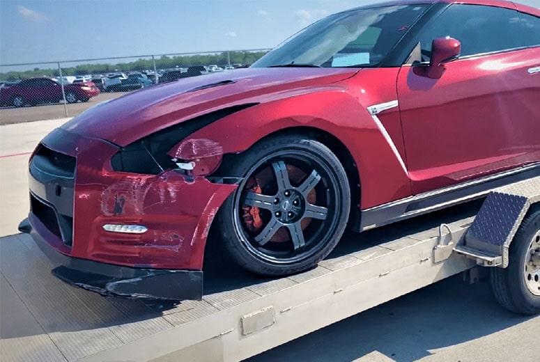 Time To Remove Scrap Car